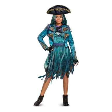 Girls Descendants Deluxe Uma Isle Look Pirate Costume