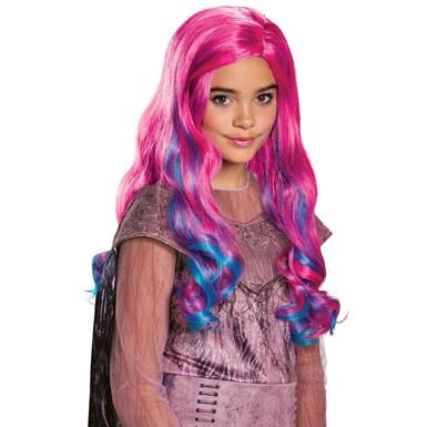 Girls Disney Descendants Audrey Pink Wig