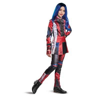 Girls Disney Tween Deluxe Evie Descendants 3 Costume