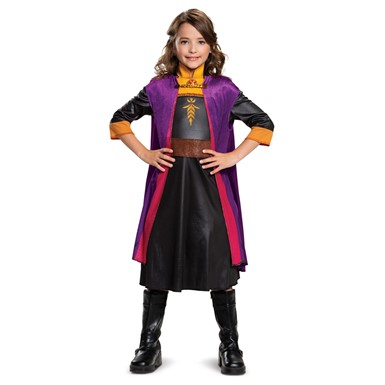 Girls Frozen Anna Classic Halloween Costume