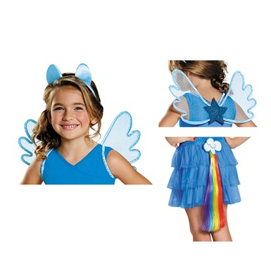Girls My Little Pony Rainbow Dash Halloween Kit