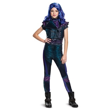 Girls Tween Descendants Classic Mal Costume