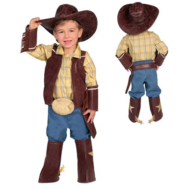 Infant Brendan's Boys Cowboy Halloween Costume