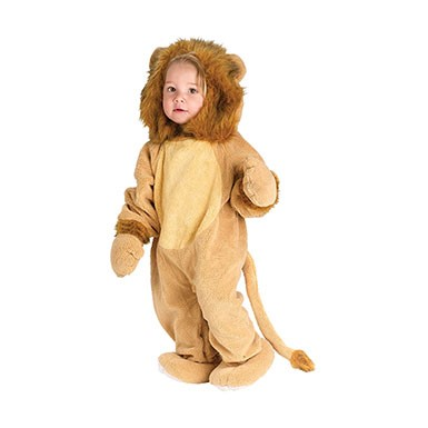 Infant Cuddly Lion Halloween Costume