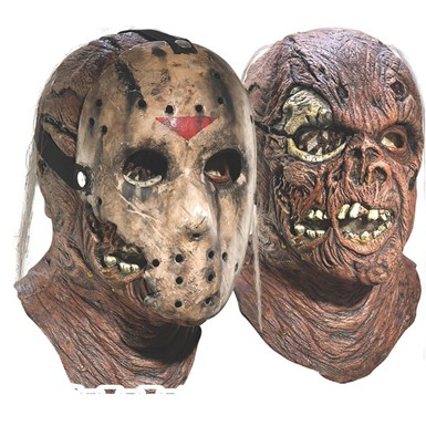 friday the 13th halloween mask deluxe jason mens halloween costumes