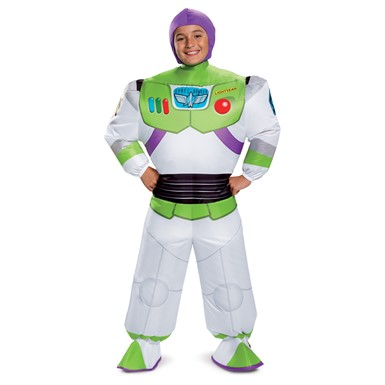 Kids Inflatable Buzz Lightyear Toy Story Costume