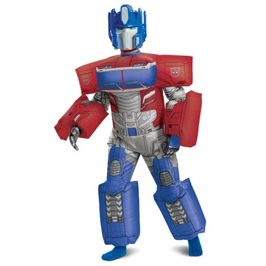 Kids Optimus Prime Evergreen Inflatable Transformers Costume