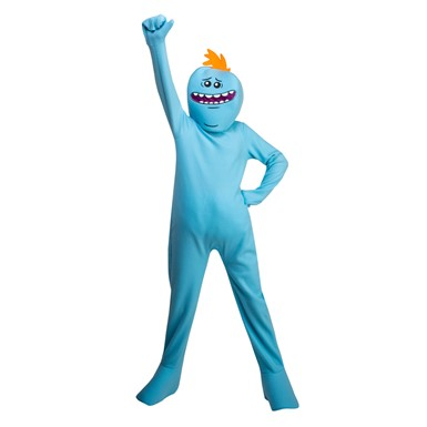 Kids Rick and Morty Mr. Meeseeks Costume
