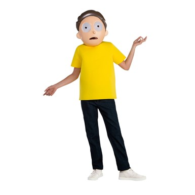 Kids Rick and Morty Smith Costume