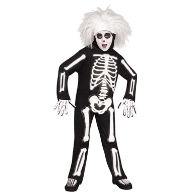 Kids SNL Beat Boy Skeleton Halloween Costume