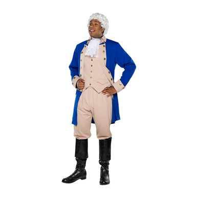 Mens Alexander Hamilton Tan Musical Costume