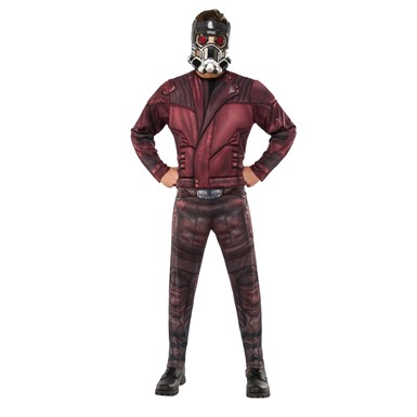 Mens Deluxe Muscle Chest Star-Lord Costume