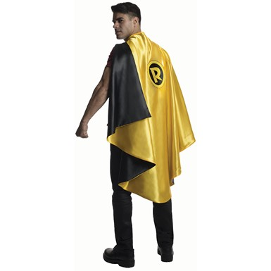 Mens Deluxe Robin Halloween Cape