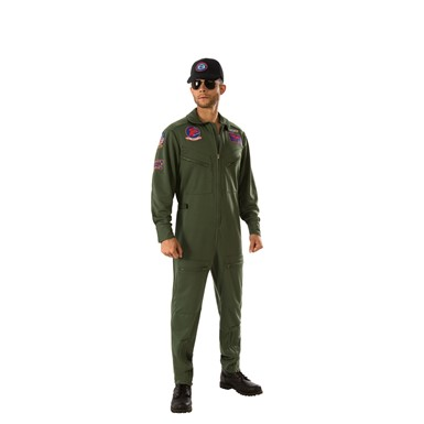 Mens Deluxe Top Gun Halloween Costume