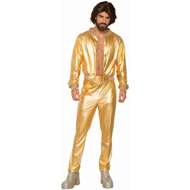 Mens Disco Singer 70s Decade Costume
