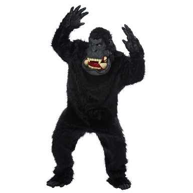 Mens Goin' Bananas Ape Gorilla Halloween Costume