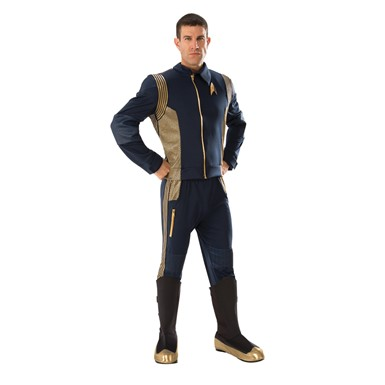 Mens Grand Heritage Star Trek Discovery Command Uniform Costume