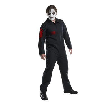 Mens Slipknot Jumpsuit Halloween Costume