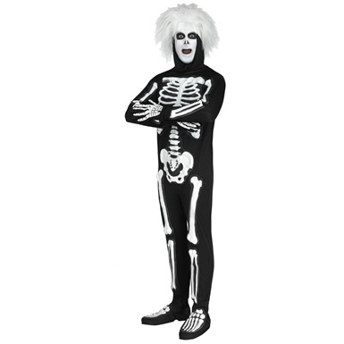 Mens SNL Beat Boy Skeleton Halloween Costume