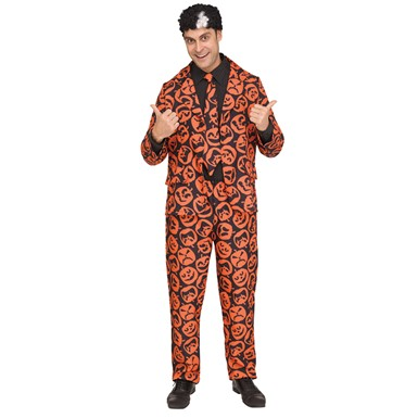 Mens SNL David S. Pumpkin Halloween Costume