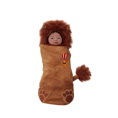 Newborn Wizard of Oz Cowardly Lion Swaddle Costume size 0-3 Months