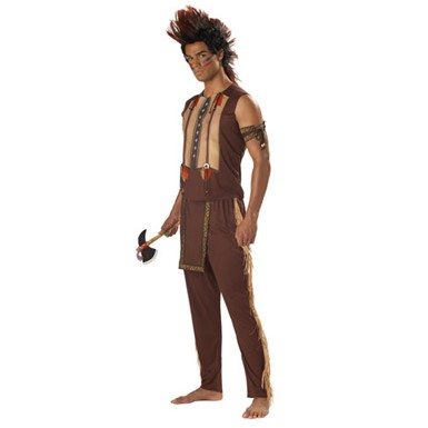 Noble Warrior Indian Mens Halloween Costume