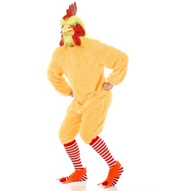 Rocking Rooster Yellow Chicken Plus Size Halloween Costume