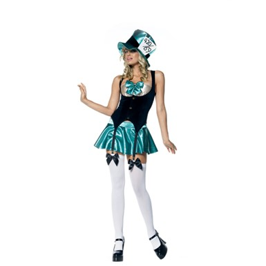 Sexy Mad Hatter Tea Party Hostess Costume