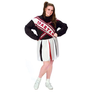 Spartan Female Cheerleader Plus SizeCostume 16-24