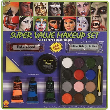 Super Makeup Art Kit Halloween Costumes and Accessories