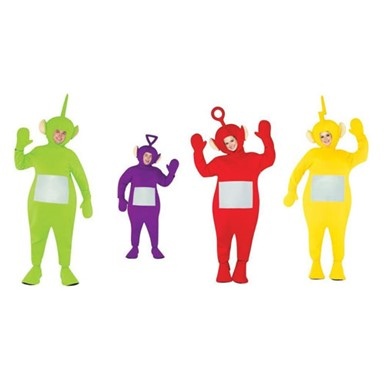 Teletubbie Adult Costume Four-Pack