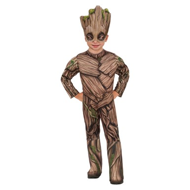 Toddler Deluxe Groot Guardians of the Galaxy Costume sz XS 2T-4T