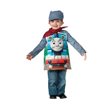 Toddler Deluxe Thomas The Train Engineeer Halloween Costume