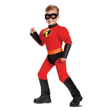 Toddler Incredibles 2 Muscle Dash Superhero Costume