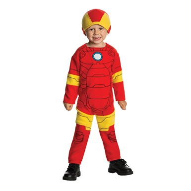 Toddler Iron Man Halloween Costume Size 2T-4T