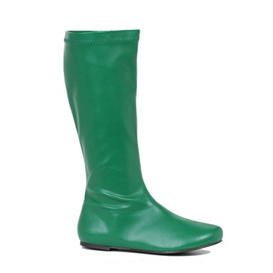 Womens Avenge Green Superhero Costume Boots