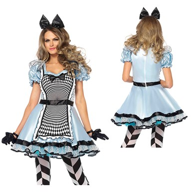 Womens Sexy Hypnotic Miss Alice Costume
