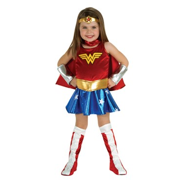 Wonder Woman Toddler Halloween Costume 2T-4T